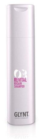 REVITAL Regain Shampoo - do łagodnego mycia włosów z pasemkami, farbowanych, falowanych i wrażliwych. Nadaje włosom jedwabisty połysk i sprawia, że z łatwością się rozczesują.