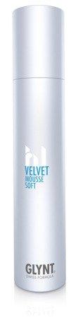 VELVET Mousse Soft - odżywcza średnio-lekko utrwalająca pianka do zdrowych włosów, nadaje dynamiczne utrwalenie